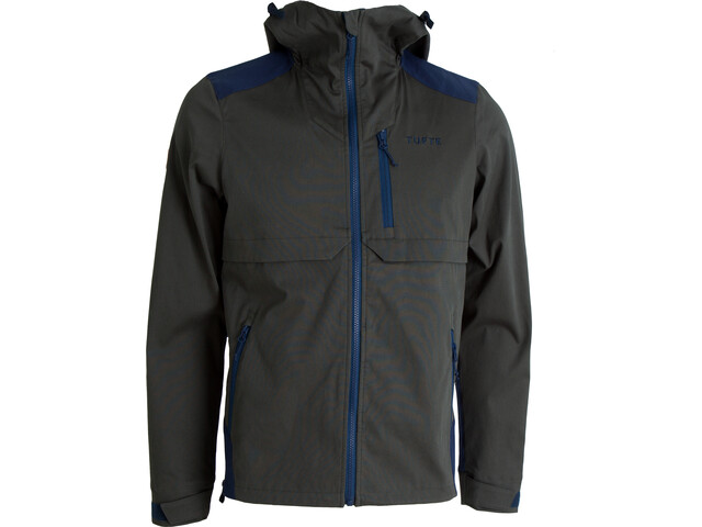 Tufte Wear Jacket Herre deep forest-insignia blue